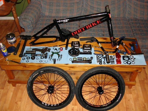 Matt Beringer bmx overhaul