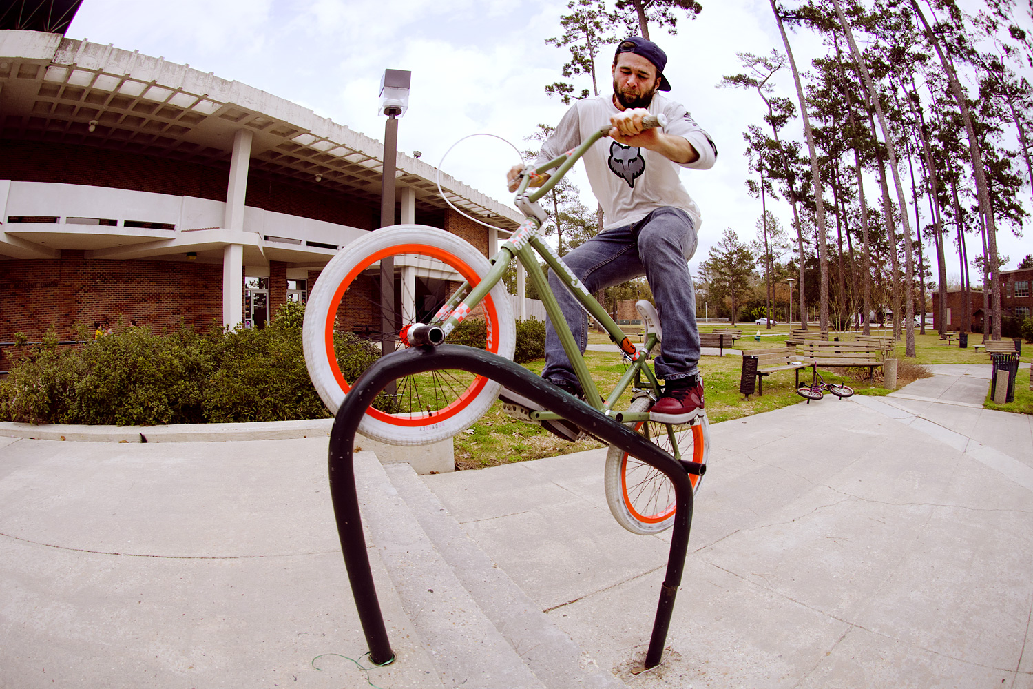 Aaron Ross Bike Check Odyssey Bmx