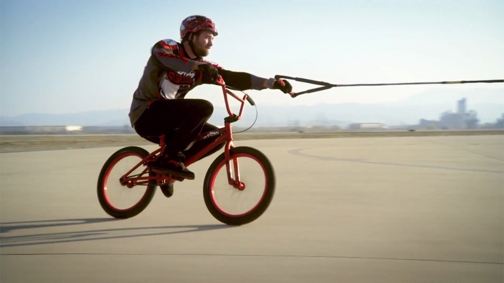 Aaron Ross Hot Wheels Promo Odyssey Bmx