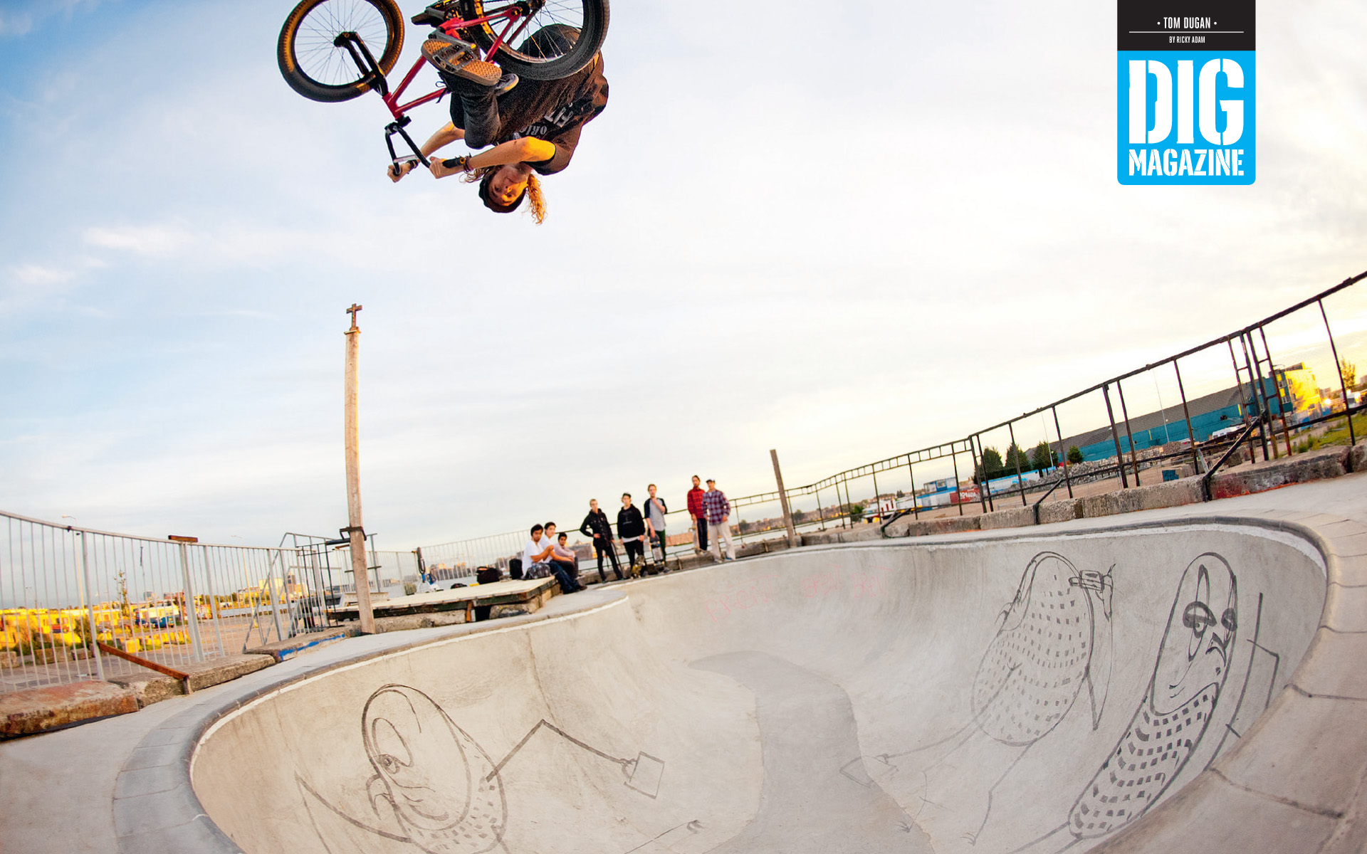 Tom Dugan – Dig Wallpaper | Odyssey BMX