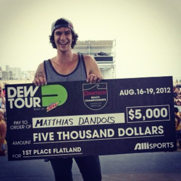 Matthias Dandois - First Place!
