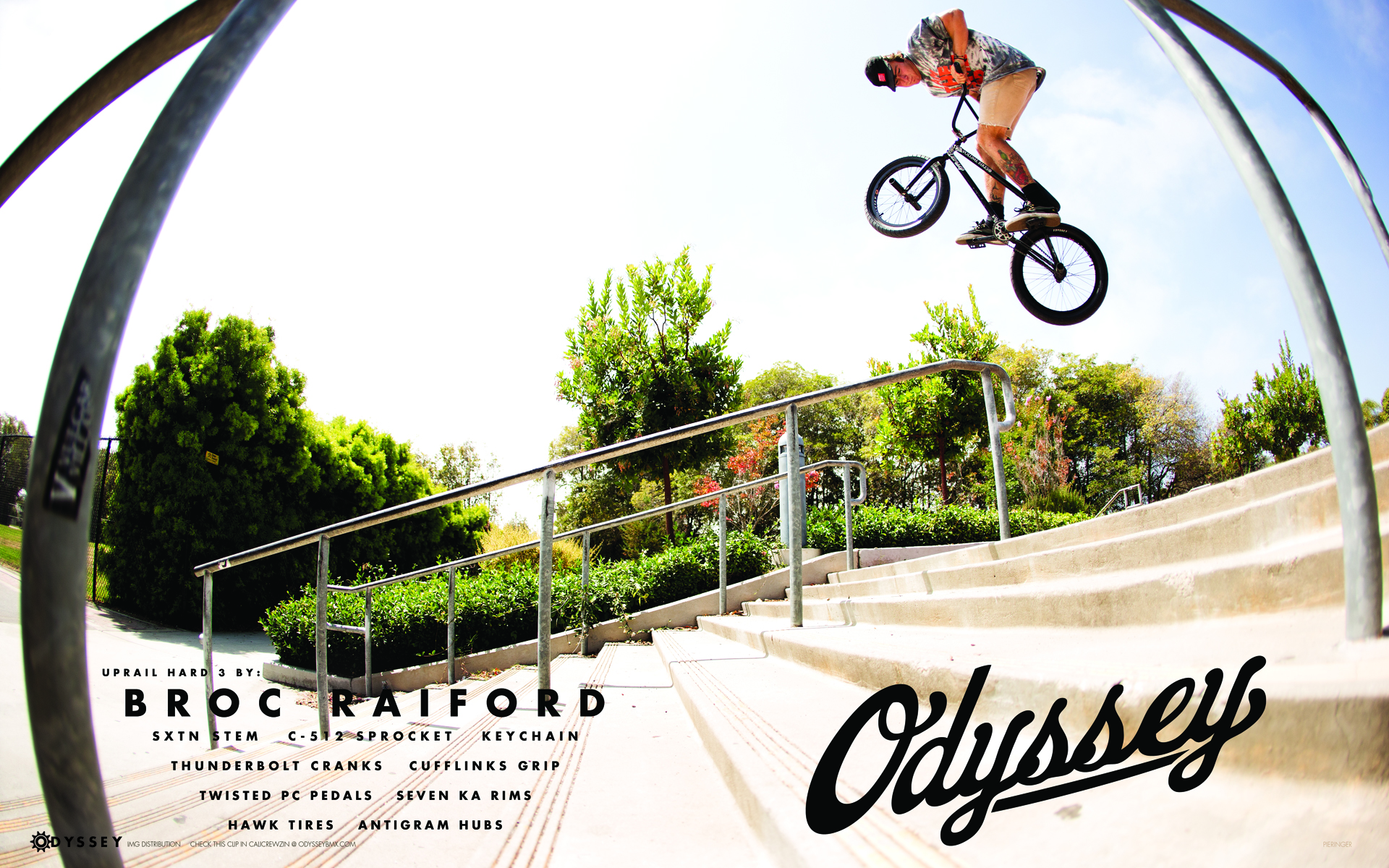Broc Raiford Print Ad/Wallpaper - The Come Up BMX